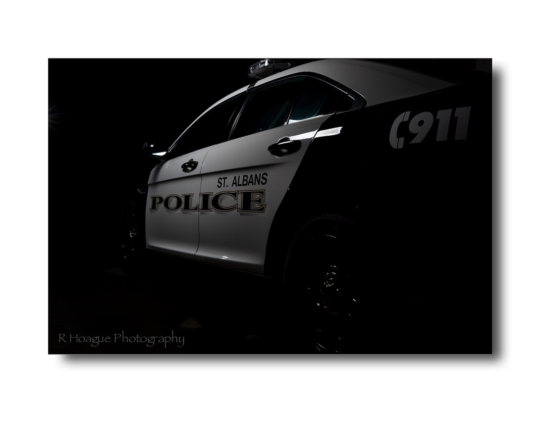 St Albans, VT Police Ford Interceptor