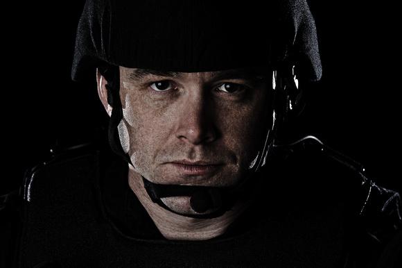 SWAT Officer Portrait