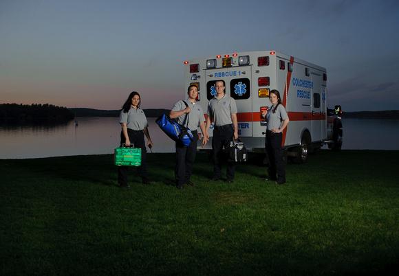 Colchester Ambulance at Mallets Bay